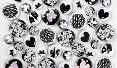 Comme des Garçons x Asylum - Edited BLACK #collaboration #print