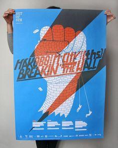 out of sth (B1, offset) by Projektor (me&Pawel) | Flickr – Compartilhamento de fotos! #jopkiewicz #blue #toska #poster