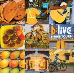 Get on a yellow e-bike and have a fun-filled ride to all the undiscovered yellows of Goa. #letsblive #funoverfuel #fun #ev #ecotourism #eco #tours #ebikes #discovery #goavibes 🌴 #goatourism #goaindiatravel #travel #instatravel #instagoa #wanderlust #navratri #navratriwear #shadesofBLive #Thursdaythoughts #TGIT #yellow