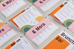 """Brand Identity for Mahlo Bar by Gabby Lord """"Mahlo is serious about brunch, while not taking themselves too seriously. We created a fun and quirky identity which extended as far as coffee packaging, copywriting, mural painting and everything in..."""