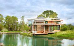 Big Timber Riverside House