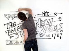 ace_hotel_1 #wall #mural #art #typography