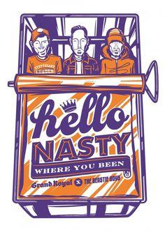 Beastie Boys | Illustrator: Travis Price: Melbourne Victoria Australia Vector