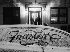 Typeverything.com Hand Lettering by FAUST #ice #lettering #cold