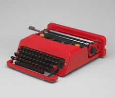 Ettore Sottsass & Perry King, Valentine Portable Typewriter, 1968