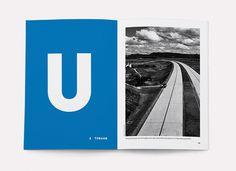 Die Autobahn A0 – gebaut nach Bauvorlage RQ 26 #design #installation #art #typography