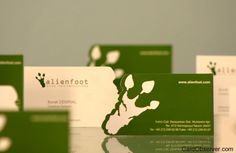 Green Business Cards Design Inspiration #cards #identity #business