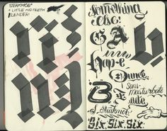 alien_andres__old_english_calligraphy_styles_handstyle_copic_guzman_ink_moleskine_illustration_drawing_art_eyes_the_maykit_infinity.jpg (JPEG Image, 1 #illustration #typography