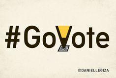 Posters Danielle Giza | Graphic Design #govote #govotenov6