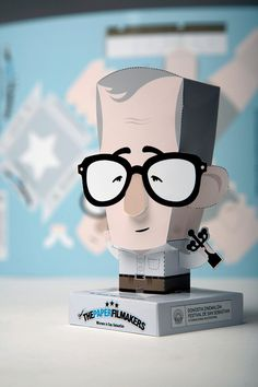 The Paper Film Makers on Behance #paper #character