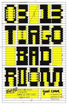 Tiago - Braulio Amado #typography #amado #poster #braulio