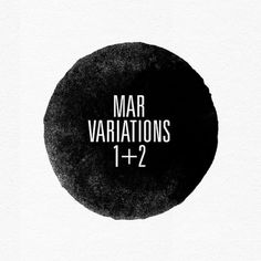 MAR on the Behance Network #variations #design #mar #typography
