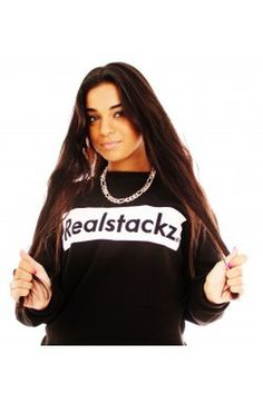 Realstackz sweatshirt print