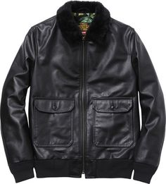 0 schott r _leather_flight_jacket_1329738910 #fashion #mens #jacket