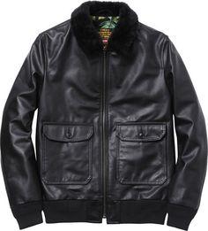 0 schott r _leather_flight_jacket_1329738910 #fashion #mens #jacket