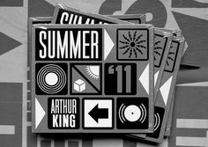 Summer '11 « Anthony Burrill #info #symbol #mono