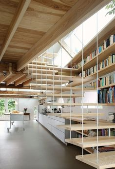 CJWHO ™ (House G by Maxwan Architects + Urbanists) #design #architecture #wood #photography #books #interiors #stairs