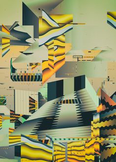 Atelier Olschinsky   PICDIT #design #graphic #color #art