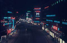 Kungsgatan, Stockholm. 1944.