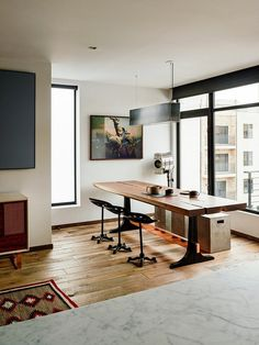 Vinegar Hill Apartment Features Modern Clean Detailing and Natural Materials 4