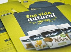 Naiak Alimentos Funcionais | fullDesign Comunicação Integrada | Agência de publicidade e propaganda em Brasília - DF #naiak #print #medicine #food #nature #natural #description #green
