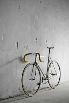fixie #fixie #bicycle #silver #velo #bike #metal