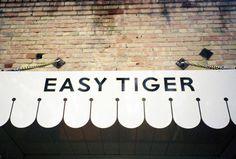 Easy Tiger #interior #identity #restaurant #bar