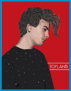 Robert from Trust final #vector #polygon #robert #hair #synthpop #illustration #portrait #mosaic #lowpoly #alfons #music #trust