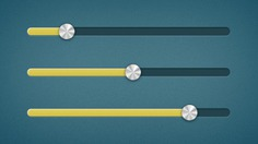 Yellow sliders with metallic buttons Free Psd. See more inspiration related to Yellow, Buttons, Psd, Material, Metallic, Horizontal, Sliders and Psd material on Freepik.