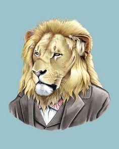 Ryan Berkley Animal Illustrations bumbumbum picture on VisualizeUs #illustration