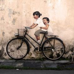 Interactive-street-art-by-Ernest-Zacharevic-2 #zacharevic #ernest #art #street