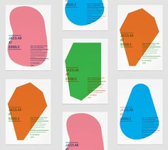 Jefferson Cheng - JazzLab at Google :: via Graphic Porn #graphic design #vector #jazz #posters #google