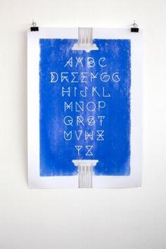 Chaumont 2011 : ЯOMAIN ∀LBERTINI #graphic design #typography #romain albertini #chaumont #greek crisis