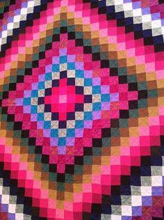 All sizes | Untitled | Flickr - Photo Sharing! #quilt #folk #pink #design #hot #art