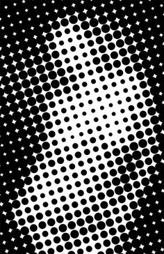 Graphic design #graphic design #figure #dots #halftone