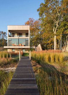 This Southampton Rustic Waterfront Home Offers Spectacular Wetlands Views 1