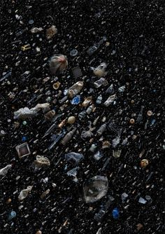 Ocean Trash Collages by Mandy Barker #art #collage #trash #stars #universe