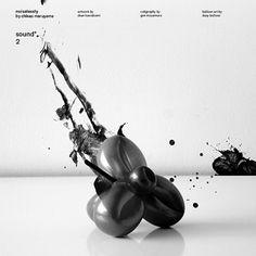 artless Inc. | news and portfolio : * print : sound: 2 (artless records™) #design