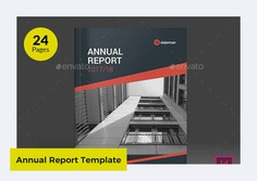 Daleman Annual Report Template Word by heriwibowo