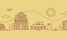 georgia coc Tim Boelaars #city #tim #landscape #illustration #boelaars #buildings
