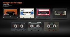 David Navarro :: Creative Direction & Design #retro #cassette