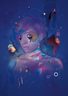 Pixelless | Fabio Catapano #ispiration #portfolio #design #graphic #color #illustration #poster #art