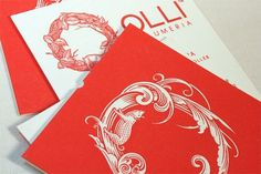 Olli Business Card - FPO: For Print Only #print