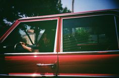 Do You Ever Look at the People Driving in the Car Next to You ? #cars #creative #photography #retro