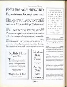 Daily Type Specimen | Announcement Roman was adapted from engravings to... #typography