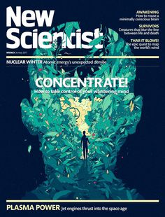 NewScientist – Cover Illustration  #illustration #cover