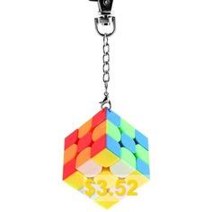 3 #x #3 #Magic #Cube #Key #Chain #for #Kids #- #MULTI