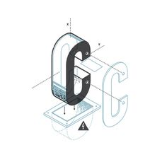 The Exploded Alphabet — the Design Office of Matt Stevens Direction + Design + Illustration