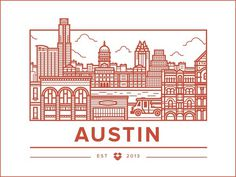 Austin Office #illustration