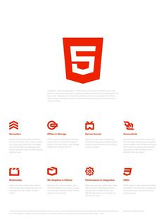 HTML5 Brand Launch Poster
